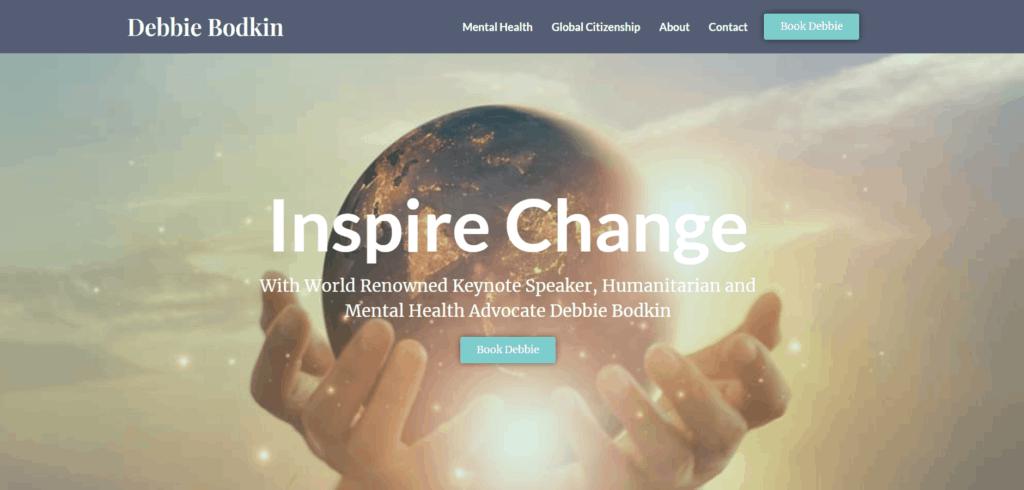 Mental Health Trainer Global Citizenship Speaker