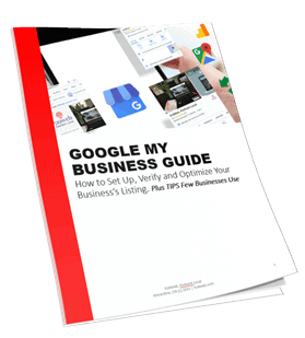 3D cover of Google My Business Guide by 519Web